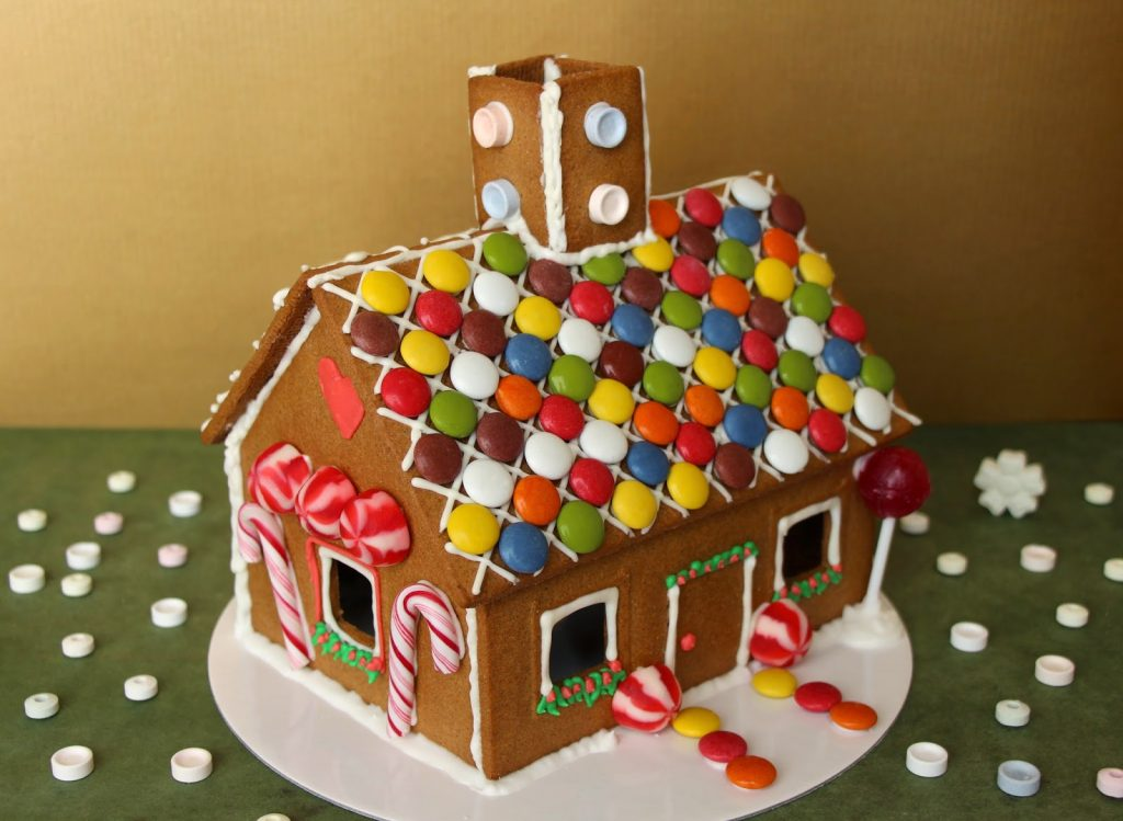 Soñar con una casa llena de caramelos
